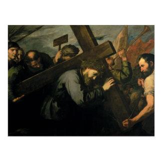 Cristo que lleva la cruz, 1635 postal
