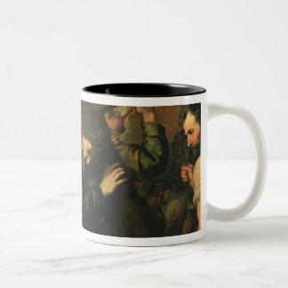 Cristo que lleva la cruz, 1635 taza de café de dos colores