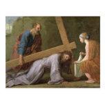 Cristo que lleva la cruz, c.1651 postales