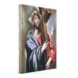 Cristo que lleva la cruz de Eugene Greco Lona Envuelta Para Galerias