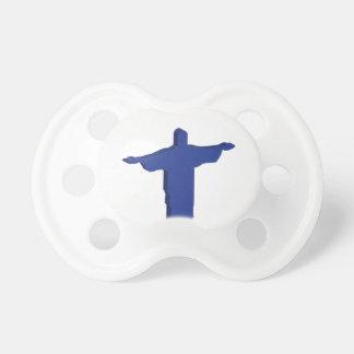 Cristo Redentor extrusion Pacifier