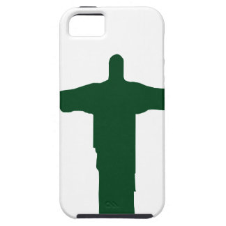 Cristo Redentor_green iPhone SE/5/5s Case
