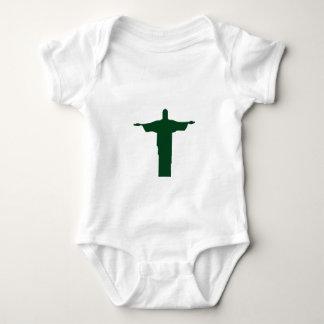 Cristo Redentor_green Tee Shirt