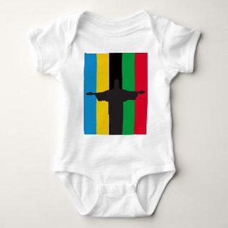 Cristo Redentor_olimpic Baby Bodysuit
