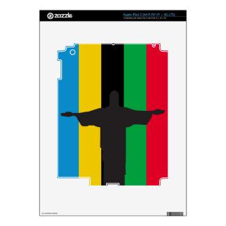 Cristo Redentor_olimpic iPad 3 Decals
