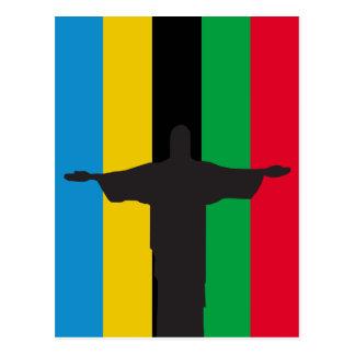 Cristo Redentor_olimpic Postcard