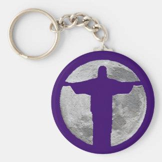 Cristo Redentor r.j. Keychain