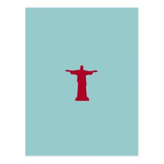 Cristo Redentor ~ rio de janeiro . brasil Postcard