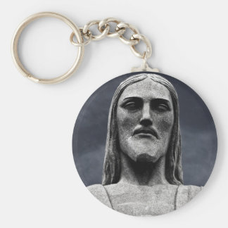 Cristo Redentor Statue Keychain