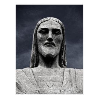 Cristo Redentor Statue Postcard