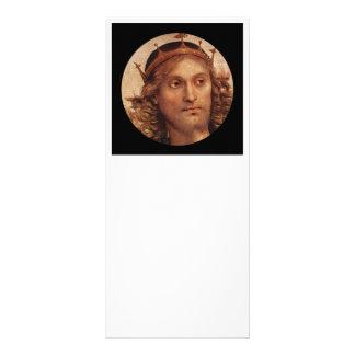 """Cristo resucitado en corona de oro folleto publicitario 4"""" x 9"""""""