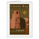 Cristo Rey Church Greeting Card