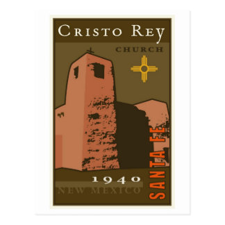 Cristo Rey Church Postcard