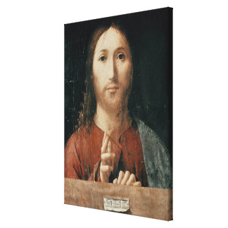 Cristo Salvator Mundi, 1465 Canvas Print