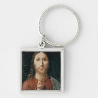 Cristo Salvator Mundi, 1465 Keychain