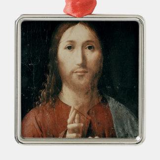 Cristo Salvator Mundi, 1465 Christmas Tree Ornament