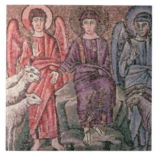 Cristo separa las ovejas de las cabras, 6to CEN Azulejo