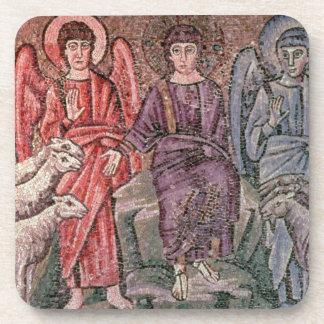 Cristo separa las ovejas de las cabras 6to CEN Posavasos De Bebidas