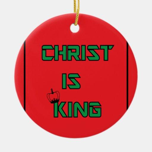 Cristo-ser-Rey Ornamento De Reyes Magos