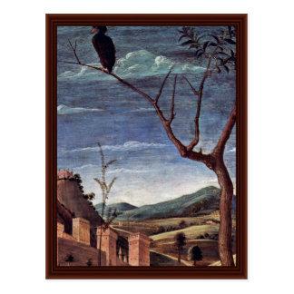 Cristo sobre los detalles del monte de los Olivos Tarjetas Postales