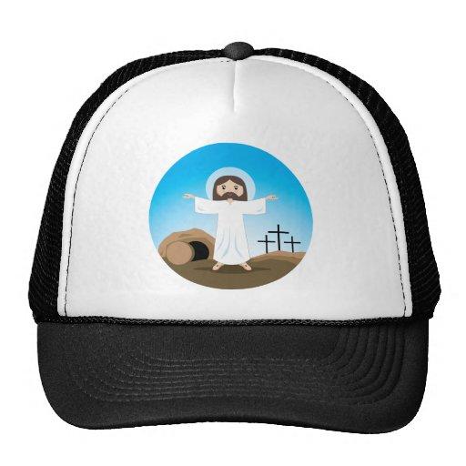 Cristo subido gorra