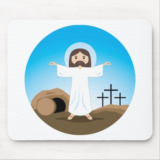 Cristo subido tapete de raton