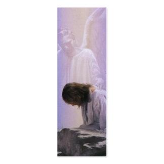 Cristo sufre en marca de libro de la biblia de Get Tarjetas De Visita