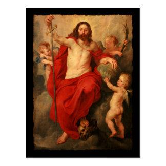 Cristo Triumph sobre pecado y muerte Postal