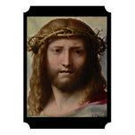 Cristo y corona de espinas anuncio