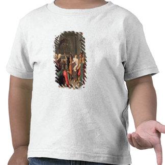 Cristo y el adulterio admitido mujer camisetas