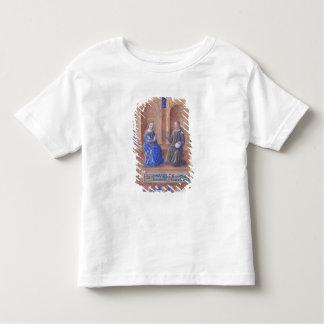 Cristo y el Virgen María Enthroned Playeras