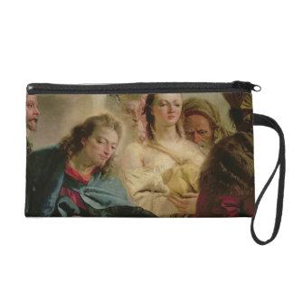 Cristo y la adúltera 1751 aceite en lona