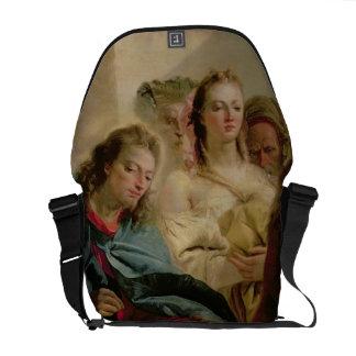 Cristo y la adúltera 1751 aceite en lona bolsas messenger