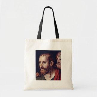 Cristo y la adúltera por Cranach D J Lucas Bolsas