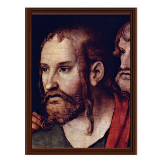 Cristo y la adúltera por Cranach D.J. Lucas Postales