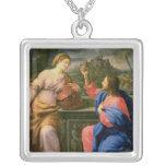 Cristo y la mujer de Samaria Joyerias