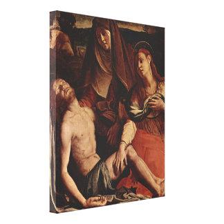 Cristo y Maria Magdalena de Agnolo Bronzino Impresiones En Lona Estiradas