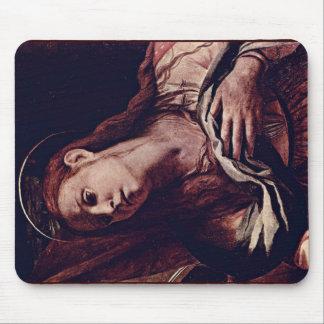 Cristo y Maria Magdalena muertos de Bronzino Ángel Tapetes De Ratones