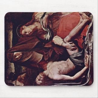 Cristo y Maria Magdalena muertos de Bronzino Ángel Tapete De Ratón