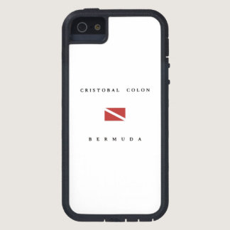 Cristobal Colon Bermuda Scuba Dive Flag iPhone SE/5/5s Case