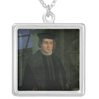 Cristóbal Colón Colgante Cuadrado