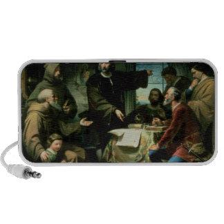 Cristóbal Colón en el monasterio del la Laptop Altavoz