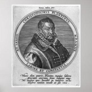 Cristóbal Plantin Póster