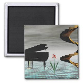 Cristofori's Dream 2 Inch Square Magnet