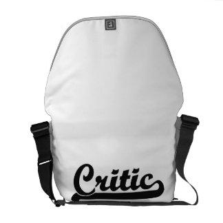 Critic Classic Job Design Courier Bags