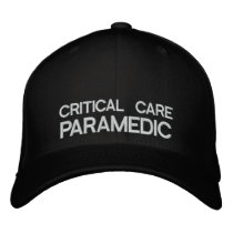 Critical Care Paramedic Flexfit Cap