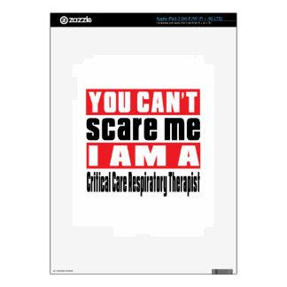 Critical Care Respiratory Therapist scare designs iPad 3 Decals