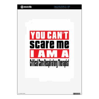 Critical Care Respiratory Therapist scare designs Skin For The iPad 2
