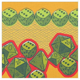 Critical Hit Dice Fabric
