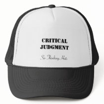 Critical Judgment, Six Thinking Hats